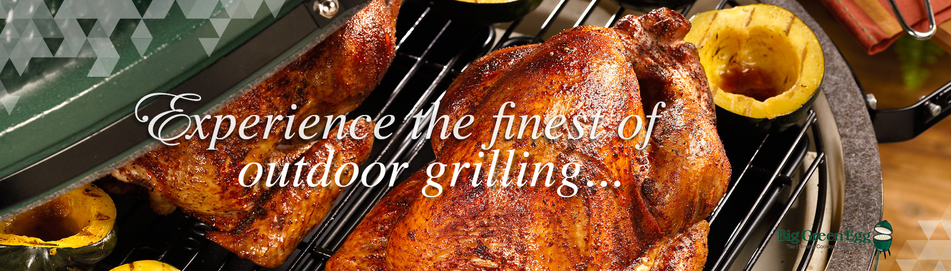Experience the finest of outdoor grilling