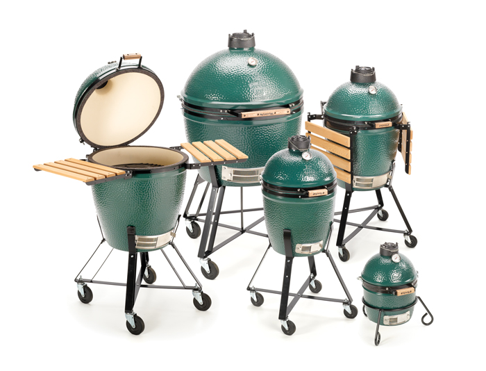 Group of Big Green Eggs
